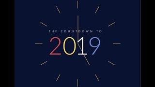 اجمل التهانى بمناسبة العام الجديد 2019