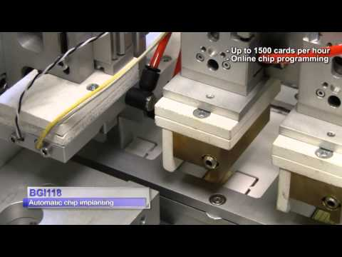 BGI 118 (Smart Card - Automated Chip Implanting)