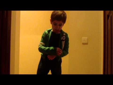 Ben10 Dancing with new costume