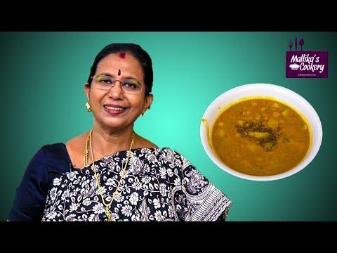 Potato And Bengal Gram Dhal Kootu : Mallika Badrinath Recipe | South Indian Foods