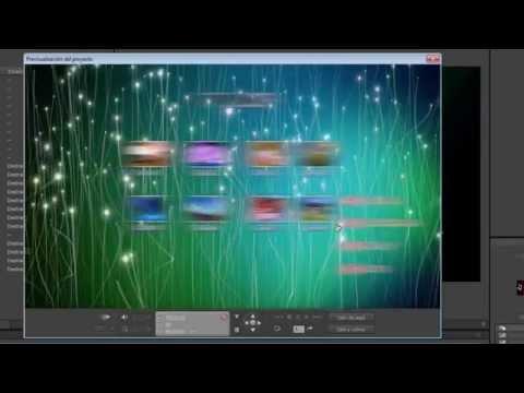 Adobe Encore CS6 Transiciones de Menú