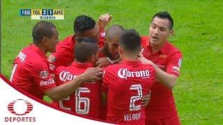 Resumen Toluca vs América | Clausura 2017 - Jornada 2 | Televisa Deportes