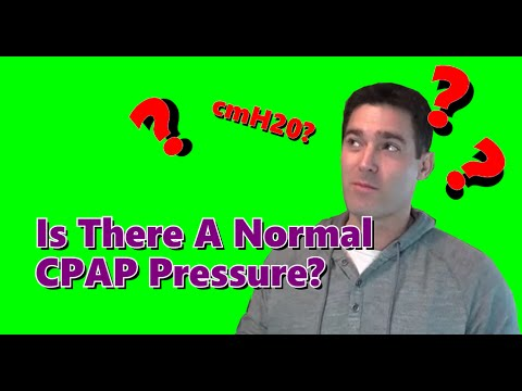 Is There A Normal CPAP Pressure?  Typical CPAP Pressure.  FreeCPAPAdvice.com