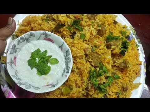 Hyderabadi mutton Tahari