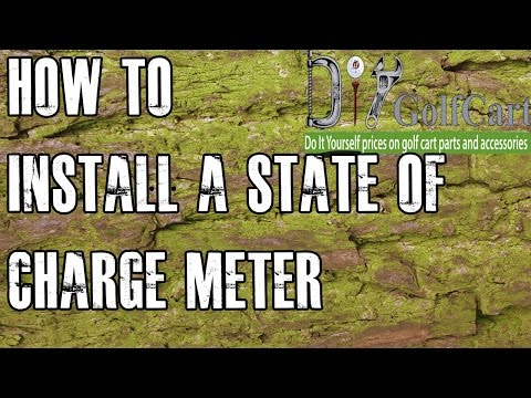 Golf Cart State of Charge Meter | How to Install on Volt Gauge