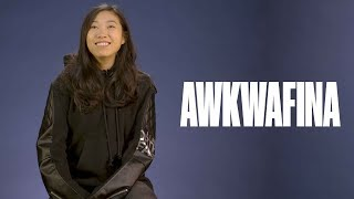 Awkwafina on meeting the cast of Ocean