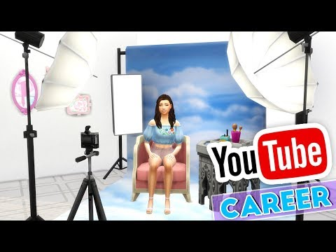 MAKE YOUR SIM BECOME A YOUTUBER!🎥 // THE SIMS 4 | YOUTUBER CAREER - MOD OVERVIEW