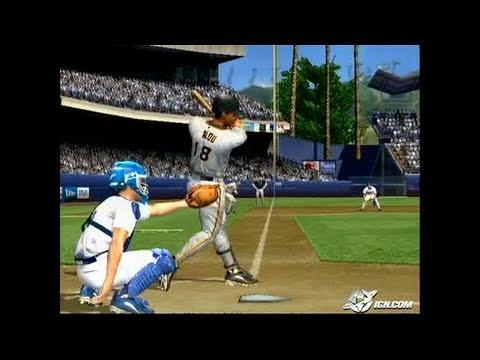 MVP Baseball 2005 GameCube Gameplay - Ruuuun, damn you.