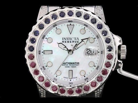 Invicta 16866 Subaqua Noma II Gemstone & Diamond Swiss Automatic