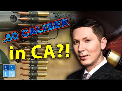 5 situations when .50 caliber BMG rifles are LEGAL in California