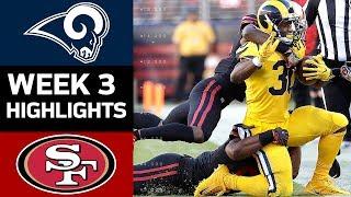 Rams vs. 49ers | NFL Week 3 Game Highlights