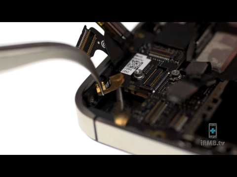 Home Button Flex Cable Repair - iPhone 4S How to Tutorial