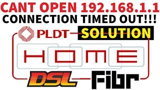 How to access your PLDT home Fibr ADMINPLDT account at