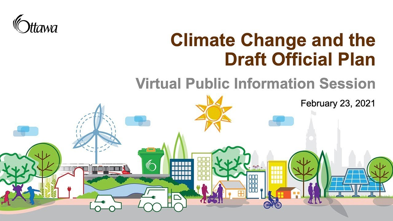 Climate change and the new Official Plan Information Session