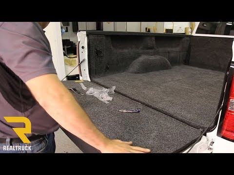 How to Install BedRug Molded Carpet Truck Bed Liner on a GMC 2500