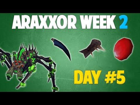 Runescape 2018 | Araxxor Week 2 - Day #5