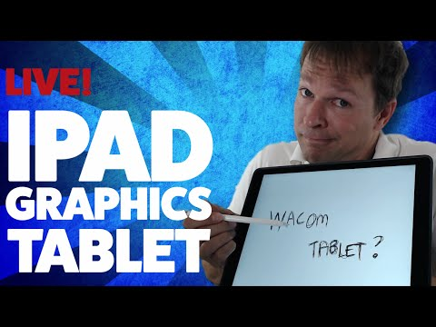 How To Turn Your iPad Pro Into A Wacom Bamboo Graphics Tablet