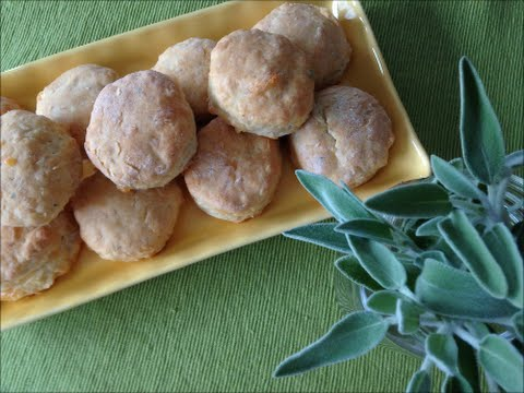 Sage Cheese Biscuits - Rise Wine & Dine - Episode 173