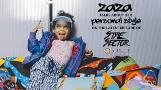 #ZaZa Talks About Her Personal #Style And Influences On @HausOfCreators 'Style Sector'