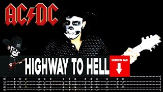 AC/DC - Highway To Hell (Guitar Cover by Masuka W/Tab)