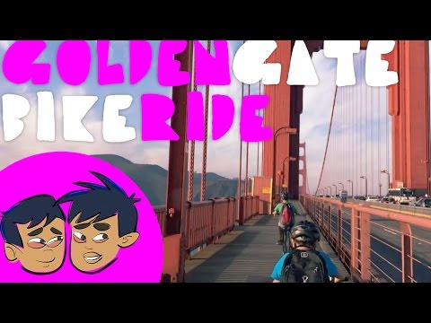Bike Ride over the Golden Gate Bridge: Budding Foodies Active Takes