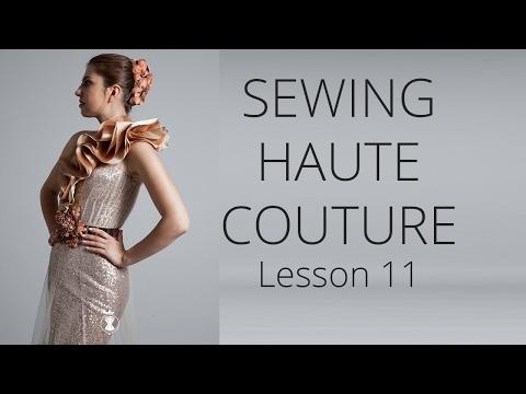 Premium Dress | How to sew Haute Couture Fashion Dress DIY #11
