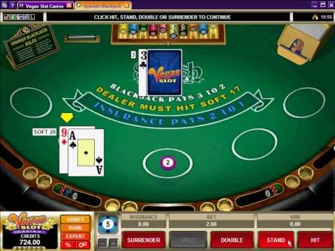 Spanish Blackjack - Promo - Vegas Slot Casino.avi