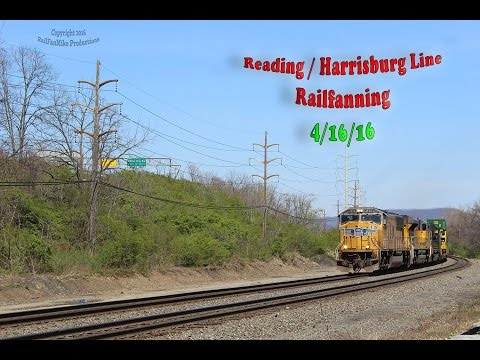 Fast Trains and Double Meets: A Brisk Day On The Reading Line