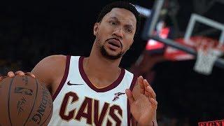 NBA 2K18 Derrick Rose Screenshot and Rating!
