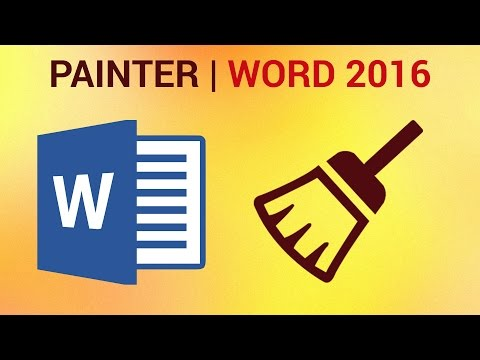 How to Copy Formatting in Word 2016 - Format Painter