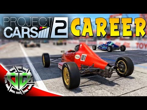 Project Cars 2 Gameplay : Career Mode: Rookie Formula A! (PS4 Pro Let's Play)