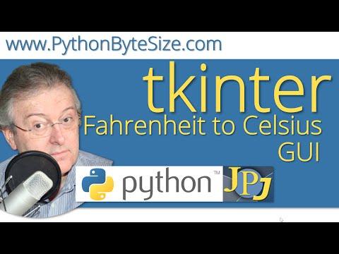 Fahrenheit to Celsius Python GUI