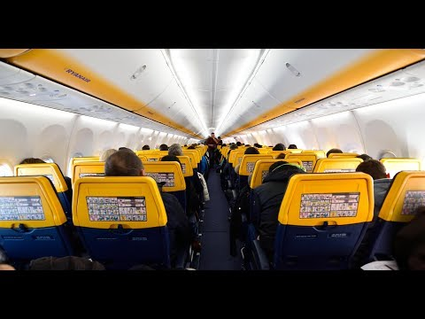 Trip report   Ryanair B737-800  Rome/Ciampino (CIA) to Bucharest Otopeni (OTP)   New Sky Interior