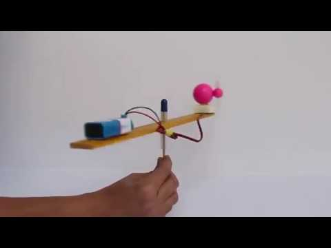 How to make flying helicopter in hindi