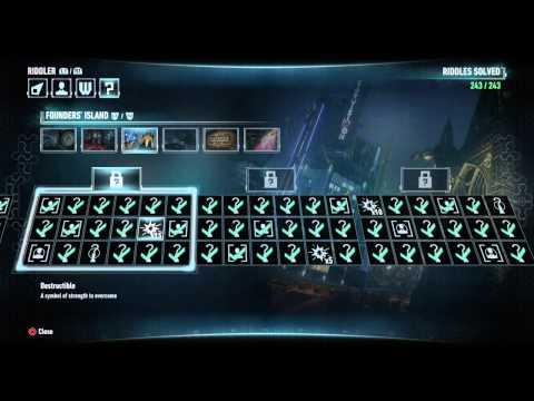 BATMAN™: ARKHAM KNIGHT 243 Riddles SOLVED