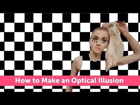 How to Make an Optical Illusion With PicsArt