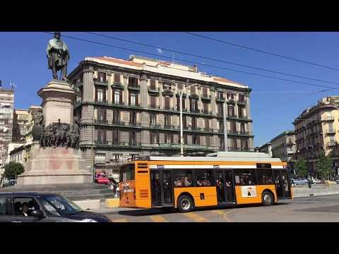 Trip to Naples / Napoli, Italy  - Piazza Garibaldi