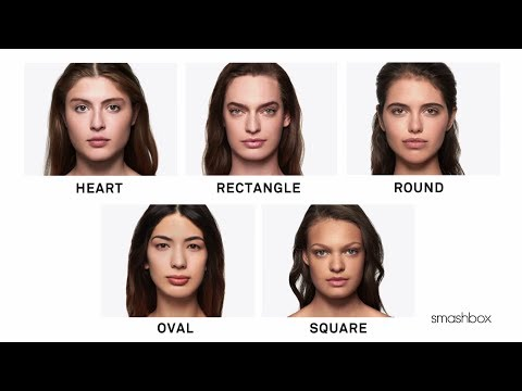 How to Figure Out Your Face Shape for Contouring by Smashbox Cosmetics | Sephora