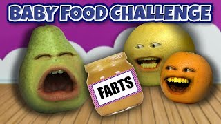 Annoying Orange - Baby Food Challenge!