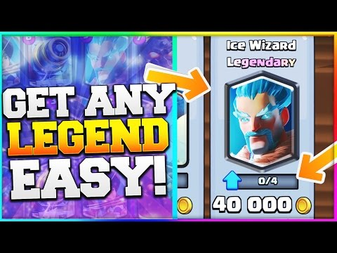 HOW TO GET LEGENDARY CARDS! Clash Royale Easy Way to Get Legendaries! Strategy & Tips!
