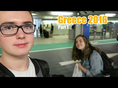 Greece 2016 - Part 1: Airport Life