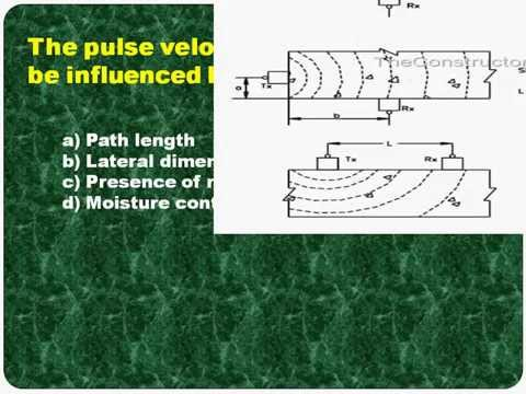 Ultrasonic Pulse Velocity Method