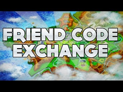 Friend Code Exchange and Friend Safari!