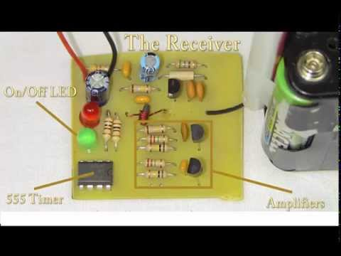 Easy Build RF Receiver / Transmitter Pair (27 MHz) #HowTo