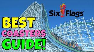 Ranking Each Six Flags Park By Their Coasters!