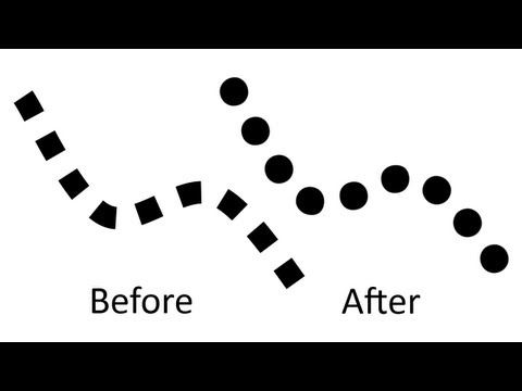 Paint.NET tutorial number 156 - Dotted circles line
