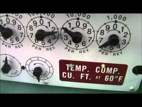 How to Read a Gas Meter