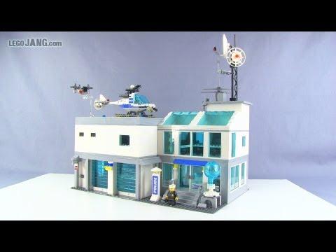 LEGO police station custom MOC