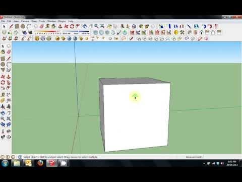 Sketchup Tutorial 1 - Environment Configuration and Navigation