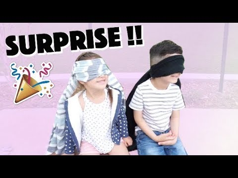 SURPRISING OUR KIDS WITH...